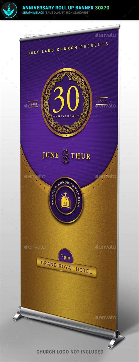 templates for church banners gold and violet church anniversary banner template
