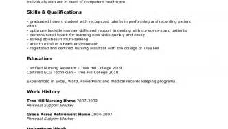 Sle Cna Resume by Nurses Assistant Resume Sales Assistant Lewesmr
