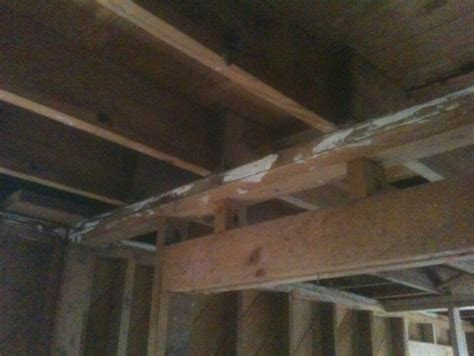 Ceiling Load by Help With Solution For Load Bearing Wall Removal Carpentry Architect Age
