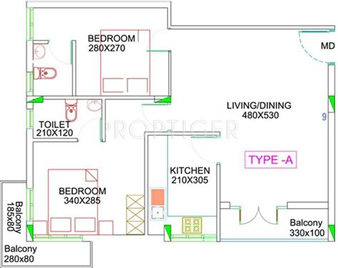 975 Sq Ft 2 Bhk 2t Apartment For Sale In Dream Flower 975 Sq Ft 2 Bhk 2t Apartment For Sale In Charms India