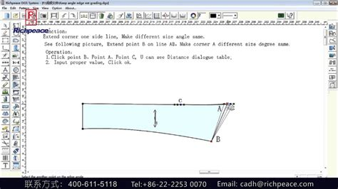 garment pattern grading download richpeace garment pattern design cad keep angle edge ext