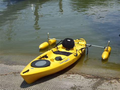 fishing boat with outriggers 20 best images about kayak fun on pinterest homemade