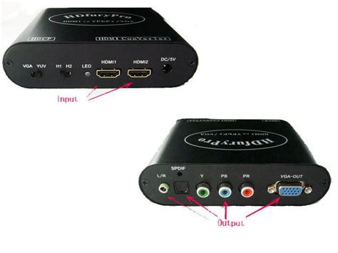 Sale Hdmi 5m Ver14 Kualitas hdmi hdfury pro hdmi to component ypbpr or vga converter same functions as hdfury2