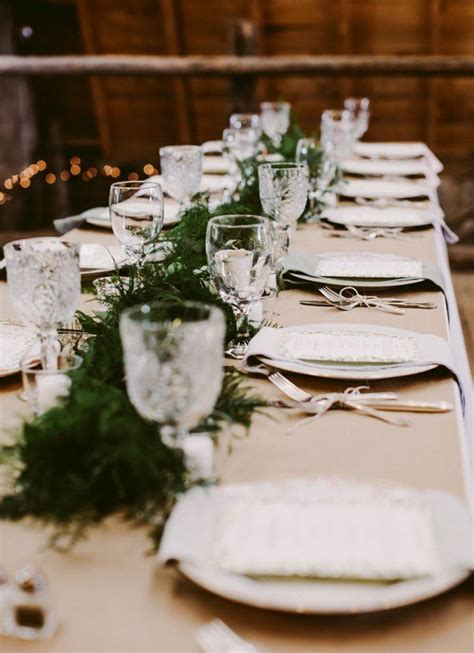 rustic wedding table decorations images