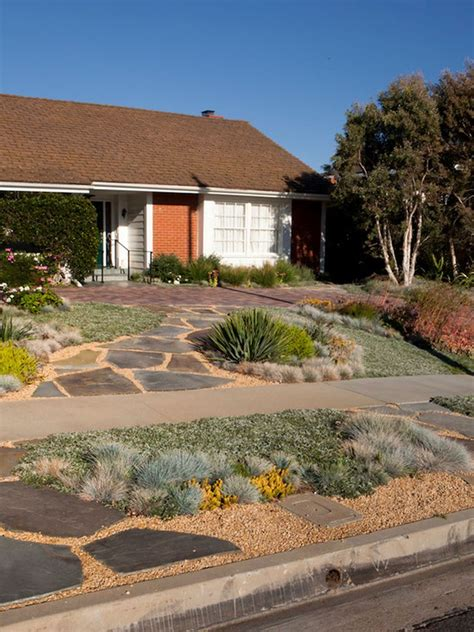 front yard desert landscape design search