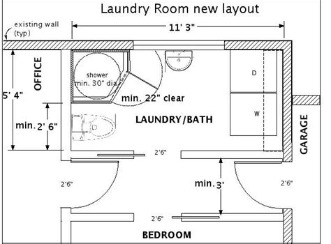 Size Of Utility Room by Fitting A Bath Into A Small Space