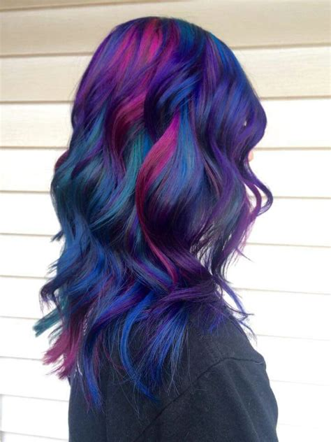 multi colored hair ideas best 25 multicolored hair ideas on opal hair