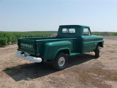 chevy truck bed for sale chevrolet c k pickup 1500 standard cab pickup 1964 hunter