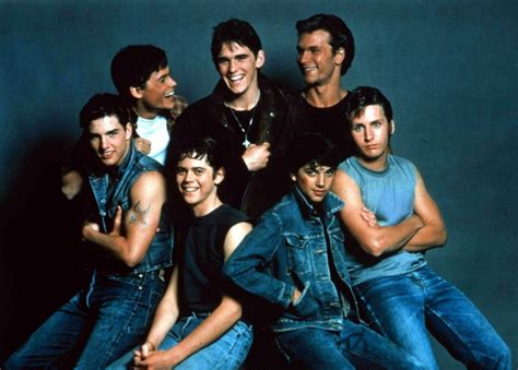 film tom cruise patrick swayze the outsiders 1983