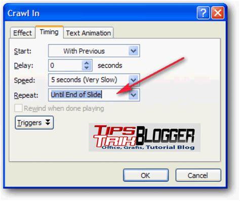 membuat text html cara membuat animasi text berjalan di power point 2007