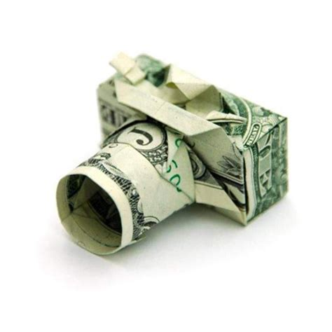 Origami With A Dollar Bill - creative dollar bill origami