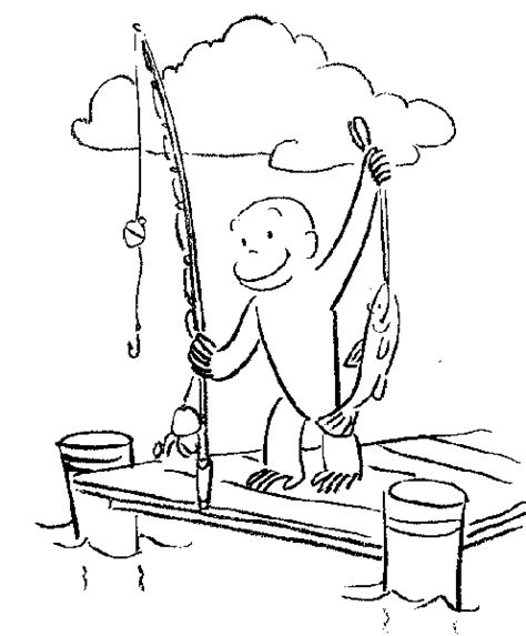 george coloring book page curious george coloring pages coloringpagesabc com