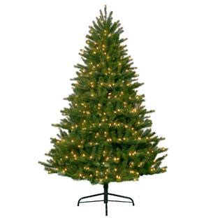 sears christmas trees artificial 6 5 clear pre lit artificial pine tree