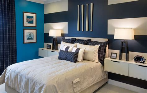 modern nightstands  complete  room   uniqueness