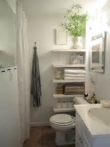 Small Bathroom Shelves Ideas by Small Bathroom Storage Ideas Pinterest Images