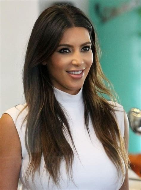 pictures best haircuts for long faces kim kardashian long face short kim kardashian haircut long layers