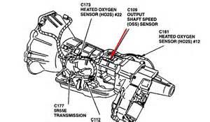 2000 ford explorer xlt shaft speed sensor a check
