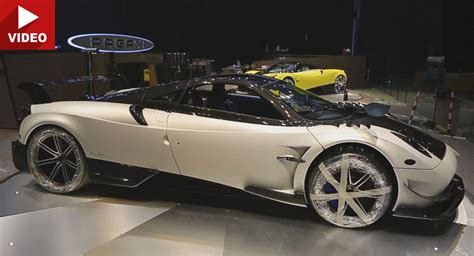new pagani new pagani huayra bc shines under the spotlights at geneva