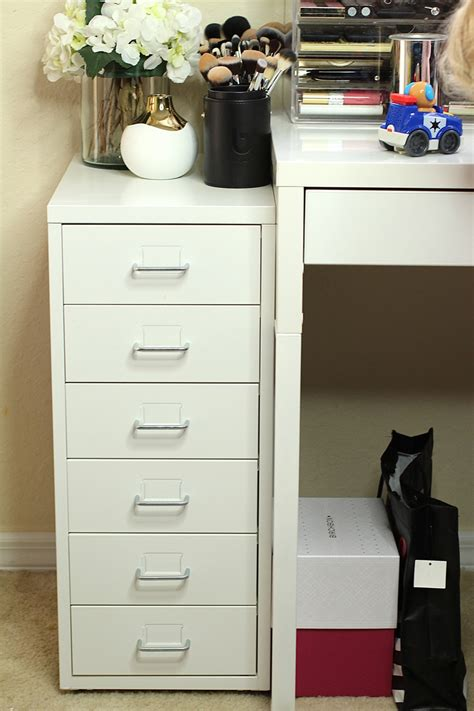 makeup table with alex drawers ikea alex makeup storage drawers affordable makeup