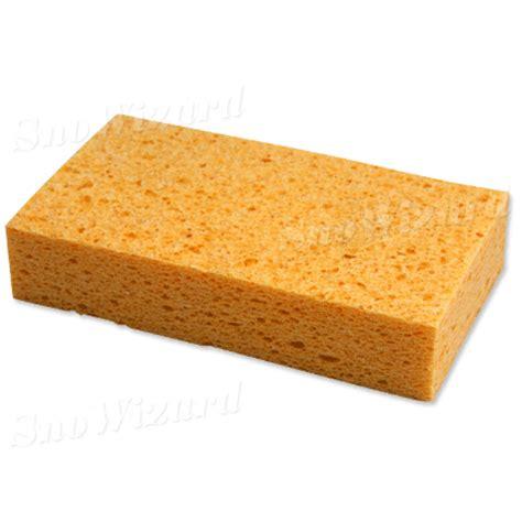 large cellulose sponge snowizard inc