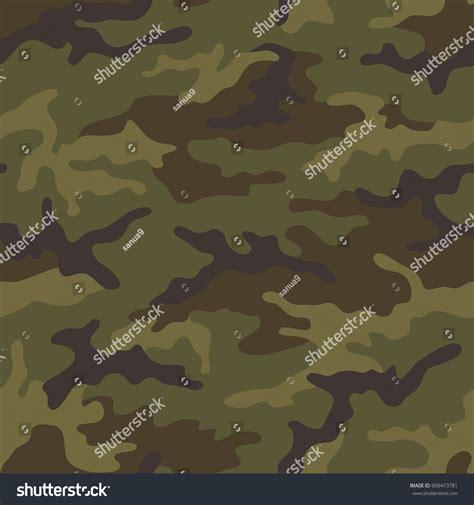 seamless army pattern seamless camouflage pattern khaki texture vector stock