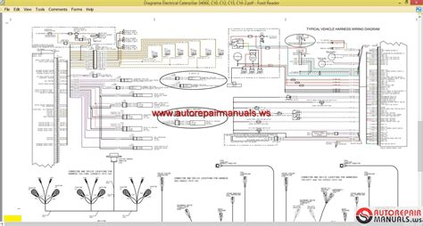 caterpillar wiring diagrams c15 wiring diagram 18 wiring diagram images wiring