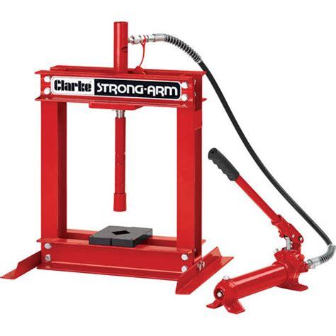 uses of hydraulic bench clarke csa4b 4 tonne hydraulic bench press machine mart