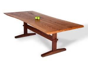Minwax dark walnut stain on pine furthermore acacia wood slab table as