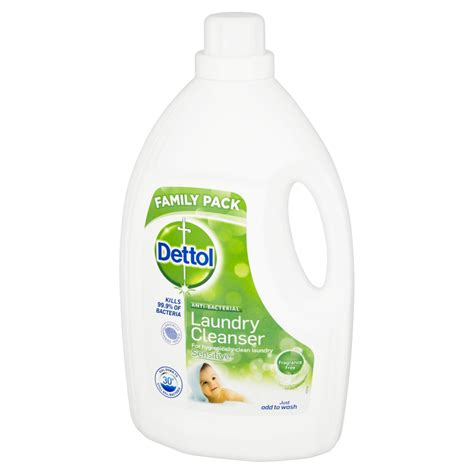 Parfum Laundry Di Palembang dettol anti bacterial laundry cleanser sensitive 2 5l fragrance free ebay