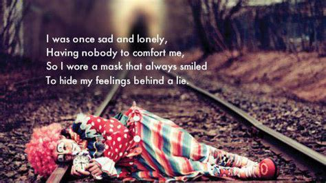 comfort in sadness hiding my feelings quotes quotesgram