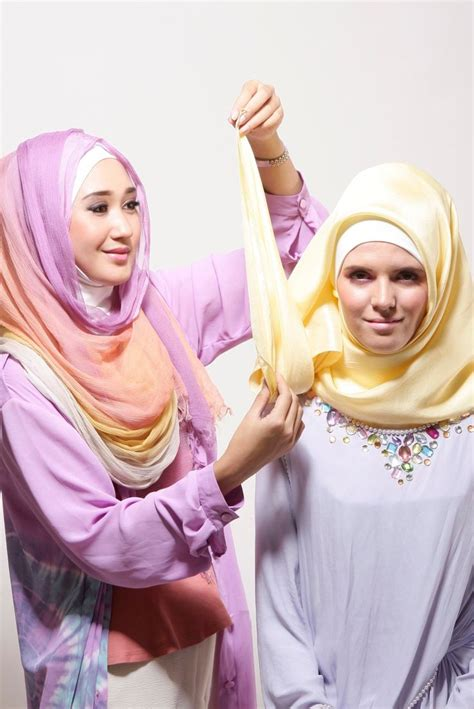 tutorial hijab paris pesta modern 125 best images about style crush dian pelangi on