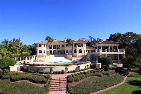 12 9 Million Mediterranean Waterfront Mansion In House Clearwater Fl