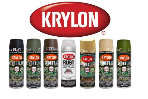 krylon spray paint colors krylon camo paint 6 camo colours available combo 4