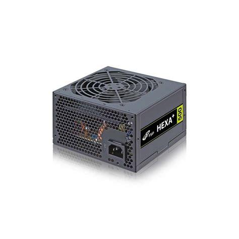Fsp Hexa 500w H2 500 fsp hexa plus h2 500w 80 new type power supply