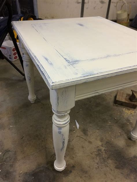 white distressed end tables blue and white distressed end table louise e