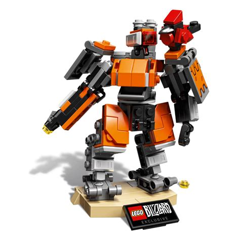 overwatch lego line kicks with bastion polygon
