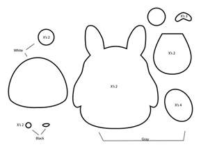 how to make a totoro plushie from felt