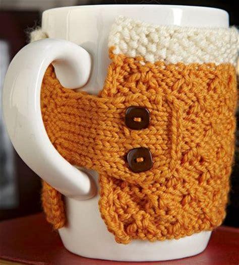 knitted mug cosy free pattern free knitting pattern cozies coffee mug cozy