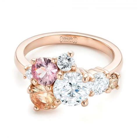25 best ideas about cluster engagement rings on