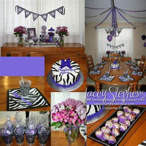 zebra themed birthday party purple zebra themed party i love the chocolate covered