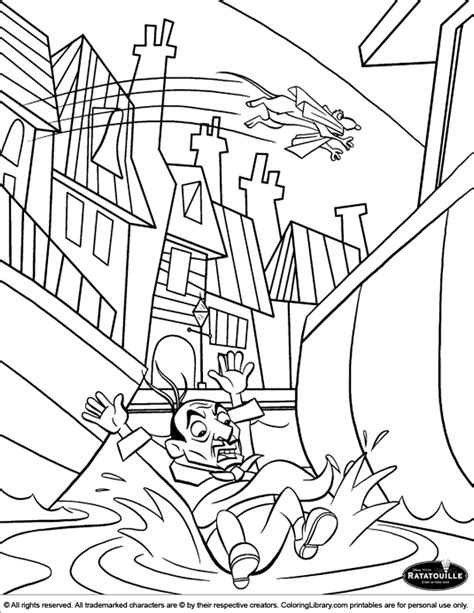 Picture Coloring Pages Ratatouille Coloring Picture by Picture Coloring Pages