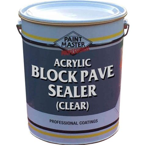 Clear Acrylic Sealer acrylic block pave sealer clear