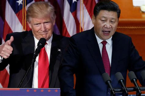 donald trump xi china s xi tells trump cooperation is only choice abs