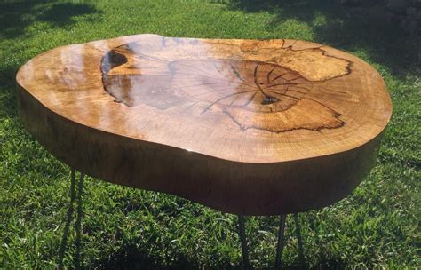 how to seal wood table spalted oak slab and epoxy table troncos rodajas y