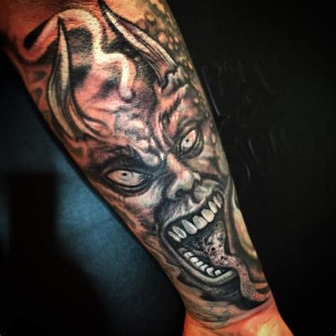 evil demon cover up tattoo by stevie monie tattoos