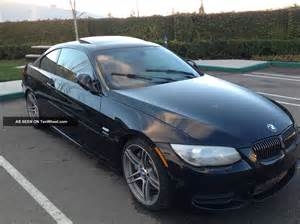 2012 bmw 335is m sport pkg coupe 2 door 3 0l