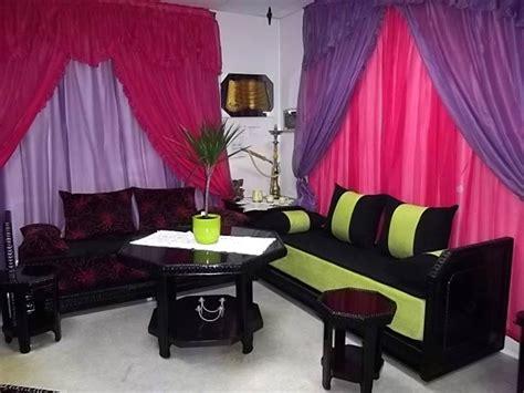 canapé marocain occasion salon en bois simple