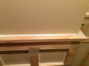 How To Attach Wainscoting To Drywall How To Install Board And Batten Wainscoting White Painted