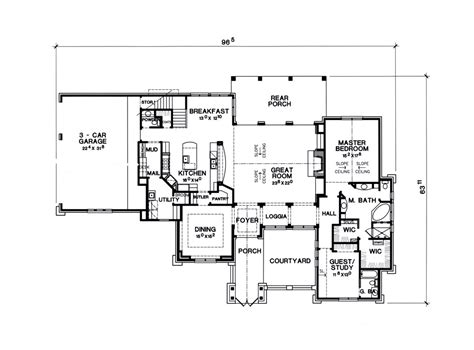 1 sth floor the siena 7228 4 bedrooms and 4 baths the house designers