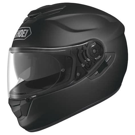 shoei matte black shoei gt air helmet solid revzilla